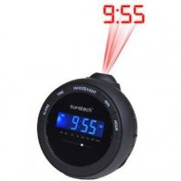 Radio Despertador Proyector FRAP1BK