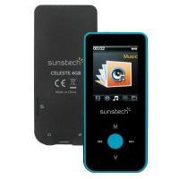 MP4 Bluetooth Celeste 1,8 4GB Azul