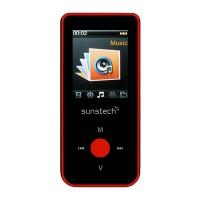 MP4 Bluetooth Celeste 1,8 4GB Rojo