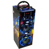 Altavoz bluetooth karaoke GR-WSK125 Azul