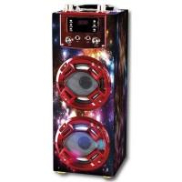 Altavoz bluetooth karaoke GR-WSK125 Rojo