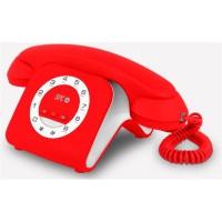 Telefono fijo SPC Retro Elegance Mini Rojo