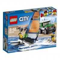 LEGO 4x4 con Catamarán