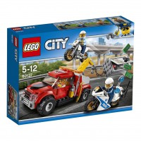 LEGO Camión Grúa en problemas
