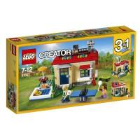 LEGO Casa Modular con Piscina