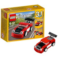 LEGO Deportivo Rojo