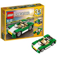 LEGO Descapotable Verde
