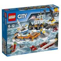 LEGO Guardacostas: Cuartel General