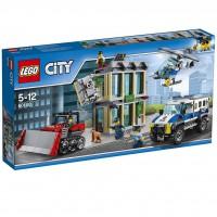 LEGO Huida con Bulldozer