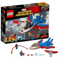 LEGO Jet del Capitán América