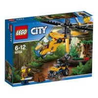 LEGO Jungla: Helicóptero de Transporte