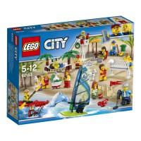 LEGO City Pack de Minifiguras - Diversión en la Playa