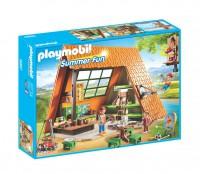 Playmobil Cabaña de Campamento