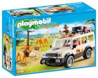 Playmobil Camión Safari con Leones