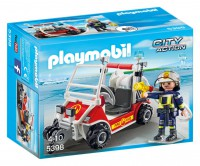 Playmobil Coche de Bomberos Aeropuerto