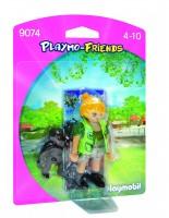 Playmobil Cuidadora con Bebé Gorila