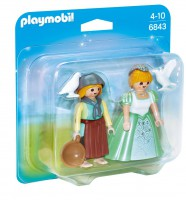 Playmobil Duo Pack Princesa y Granjera