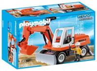 Playmobil Excavadora con Cargadora Frontal