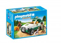 Playmobil Guardabosque con Pick up