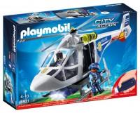 Playmobil Helicóptero de Policía con Luces LED