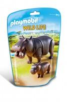 Playmobil Hipopótamos