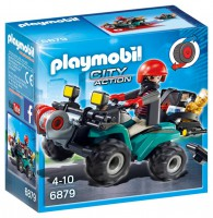 Playmobil Ladrón con Quad y Botín