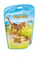 Playmobil Leopardo con Crías