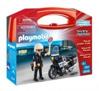 """Playmobil Maletin """"Policía"""""""