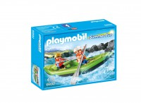 Playmobil Niños en Balsa