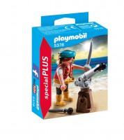 Playmobil Pirata con Cañón