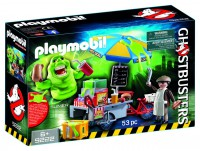 Playmobil Slimer con Stand de Hot Dog