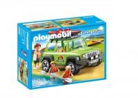 Playmobil Vehículo 4x4 con Canoa
