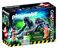 Playmobil Venkman, Dana y Perros de Gozer