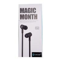 Auricular Magic Month D2 Negro